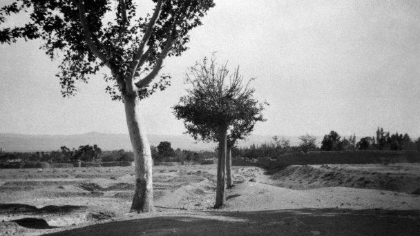 Pemandangan di Badhast, tempat  pertemuan para pengikut Sang Báb